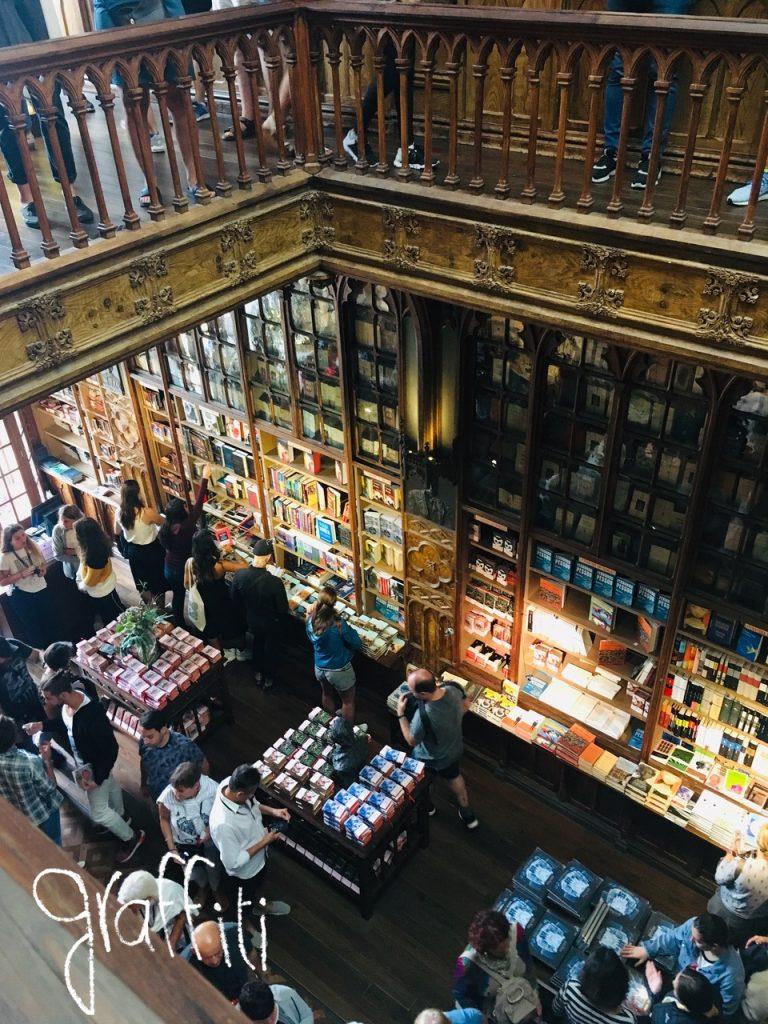 Librairie Lello, Porto.